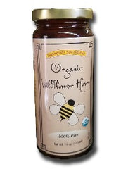 Suzannes Organic Wildflower Honey -16 oz