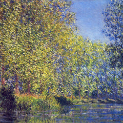 The Museum Outlet - A Bend in the Epte Giverny by Monet