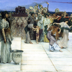 The Museum Outlet - A consecration of Bacchus, detail [1] by Alma-Tadema