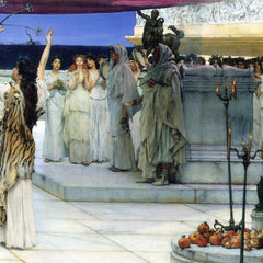 The Museum Outlet - A consecration of Bacchus, detail [2] by Alma-Tadema