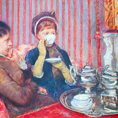 The Museum Outlet - A cup of tea #2 by Cassatt