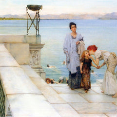 The Museum Outlet - A kiss by Alma-Tadema