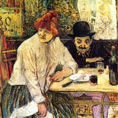 The Museum Outlet - A la Mie in the Restaurant by Toulouse-Lautrec