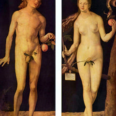 The Museum Outlet - Adam and Eve by Durer