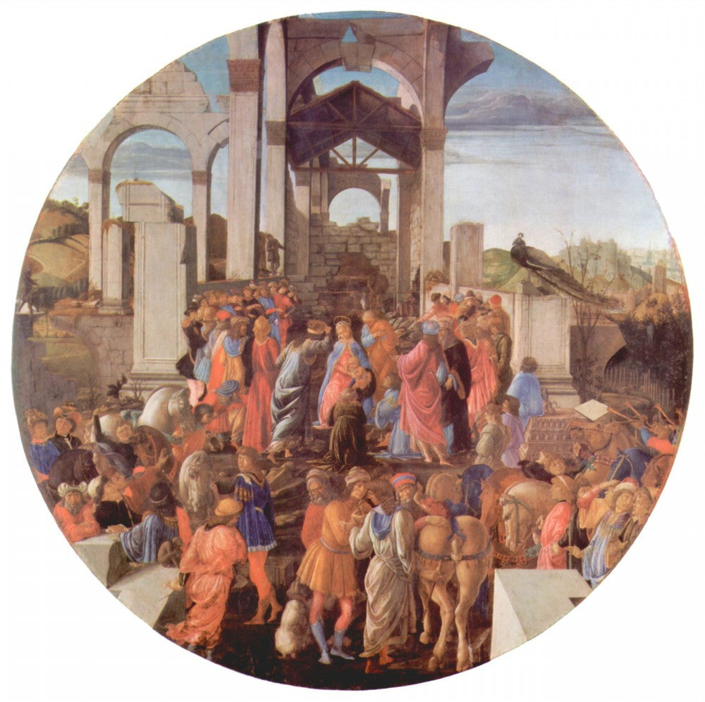 The Museum Outlet - Adoration of the Magi (London) [2 by Botticelli