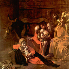 The Museum Outlet - Adoration of the Shepherds by Caravaggio
