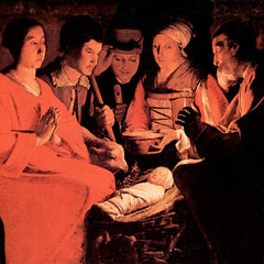 The Museum Outlet - Adoration of the Shepherds by La Tour