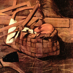 The Museum Outlet - Adoration of the Shepherds detail by Caravaggio