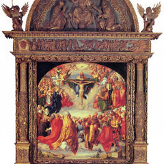 The Museum Outlet - Adoration of the Trinity by Durer