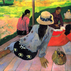 The Museum Outlet - Afternoon Quiet Hour by Gauguin