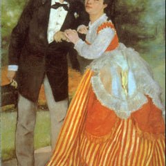 100% Hand Painted Oil on Canvas - Alfred Sisley by Renoir
