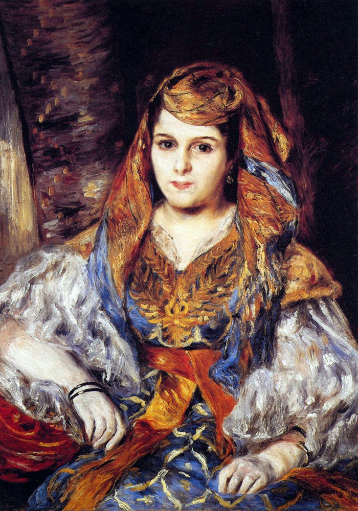The Museum Outlet - Algerian Woman by Renoir
