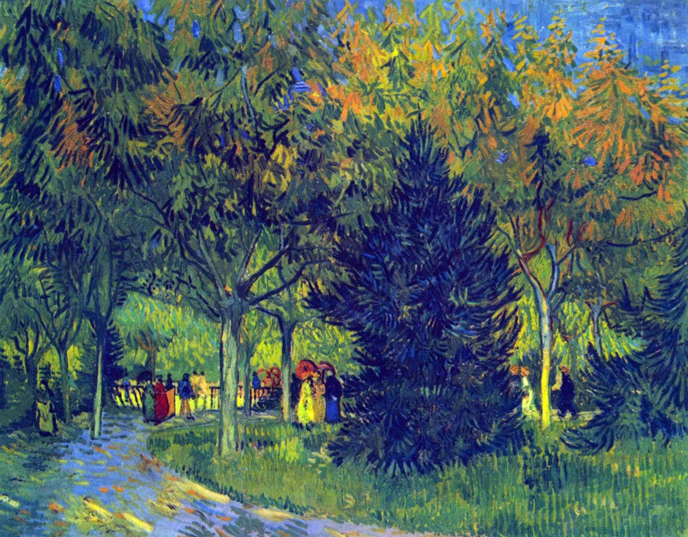 The Museum Outlet - Allee in the Park by Van Gogh