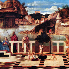 The Museum Outlet - Allegory of Purgatory by Bellini