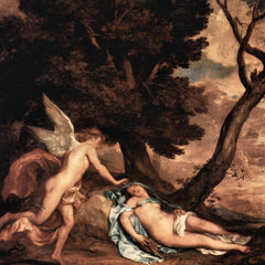 The Museum Outlet - Amour and Psyche by Van Dyck