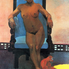 The Museum Outlet - Anna the Java Woman by Gauguin