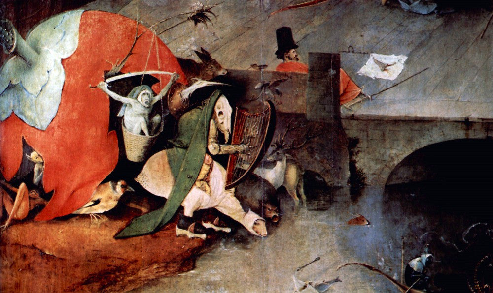 The Museum Outlet - Anthony Altar -Temptation of St. Anthony, detail 7 by Bosch]