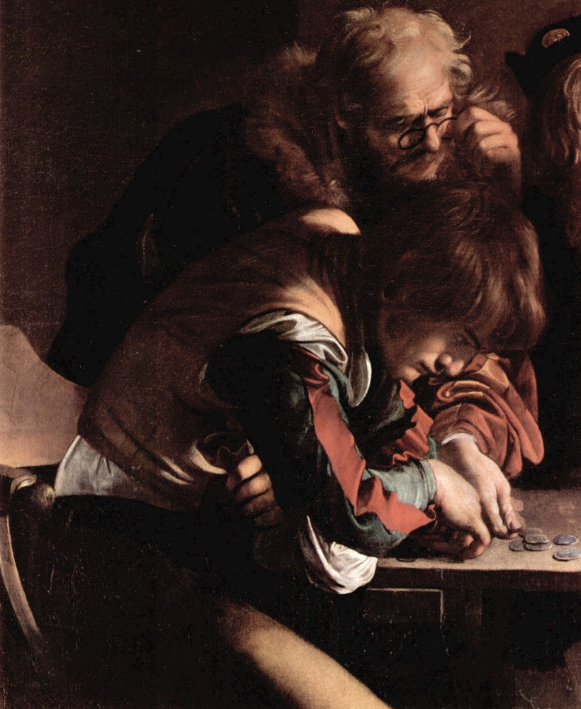 The Museum Outlet - Appeals of St. Matthew detail 1 by Caravaggio