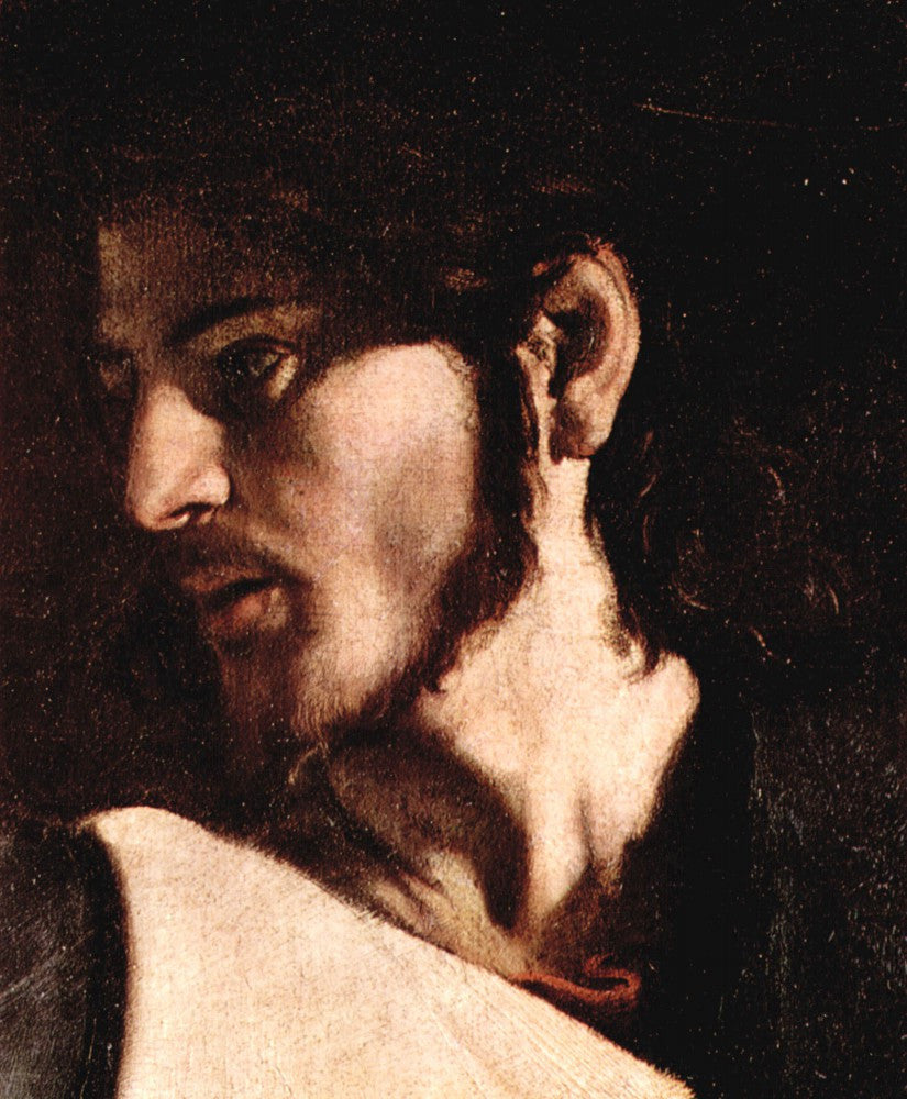 The Museum Outlet - Appeals of St. Matthew detail 3 by Caravaggio