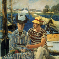 100% Hand Painted Oil on Canvas - Argenteuil by Manet