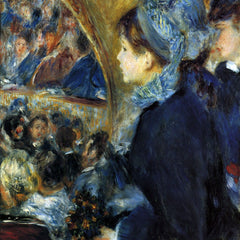 The Museum Outlet - At the theatre by Renoir