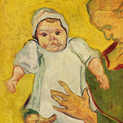 The Museum Outlet - Augustine Roulin with her infant by Van Gogh