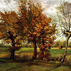 The Museum Outlet - Autumn Landscape with Four Trees