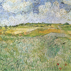 The Museum Outlet - Auvers with rain clouds by Van Gogh