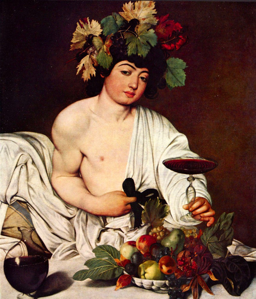 The Museum Outlet - Bacchus by Caravaggio