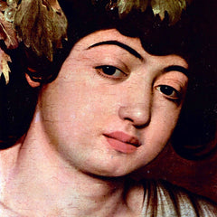 The Museum Outlet - Bacchus detail by Caravaggio