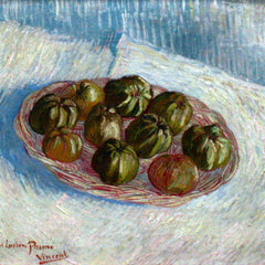 The Museum Outlet - Basket of apples by Van gogh