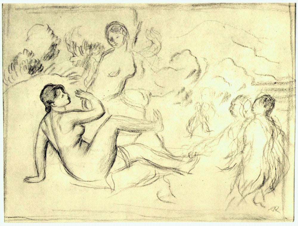 The Museum Outlet - Bather #2 by Renoir