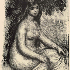 The Museum Outlet - Bather #3 by Renoir