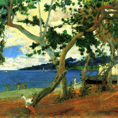 The Museum Outlet - Beach Scene 2 by Gauguin