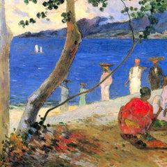 The Museum Outlet - Beach Scene by Gauguin