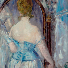 100% Hand Painted Oil on Canvas - Before the Mirror by Manet