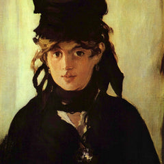 100% Hand Painted Oil on Canvas - Berthe Morisot by Manet