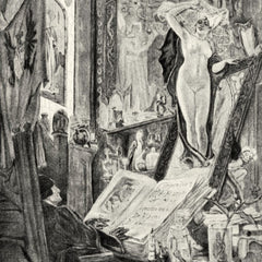 The Museum Outlet - Bewitching by Felicien Rops