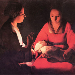 The Museum Outlet - Birth of Christ by La Tour