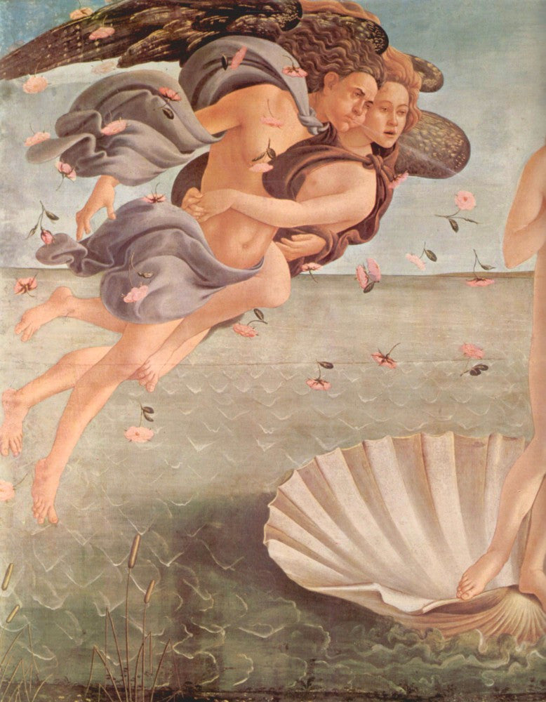 The Museum Outlet - Birth of Venus Detail by Botticelli