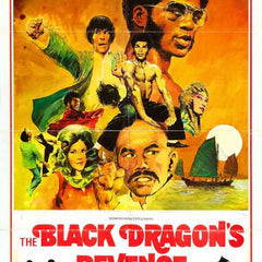 Reproduction of a poster presenting - Black Dragons Revenge 01 - A3 Poster Print Buy Online