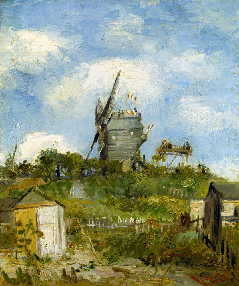 The Museum Outlet - Blut Fin Windmill by Van Gogh