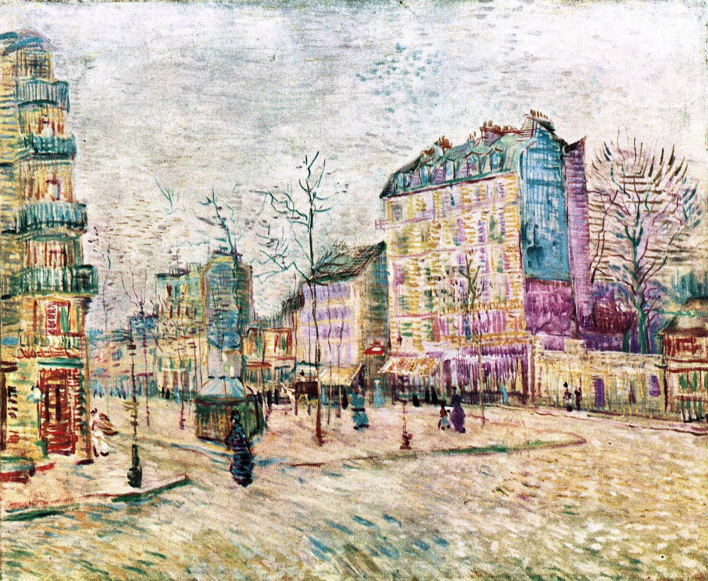 The Museum Outlet - Boulevard de Clichy by Van Gogh