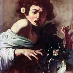 The Museum Outlet - Boy bitten by a lizard by Caravaggio