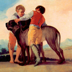 The Museum Outlet - Boys with blood dogs by Goya