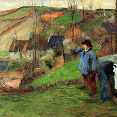 The Museum Outlet - Breton Shepherd by Gauguin