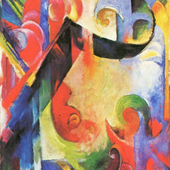 The Museum Outlet - Broken Forms by Franz Marc