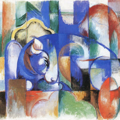 The Museum Outlet - Bull by Franz Marc