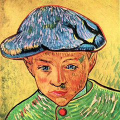 100% Hand Painted Oil on Canvas - Camille Roulin by Van Gogh