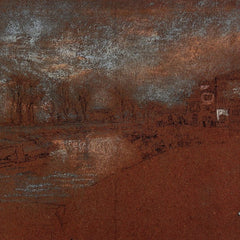 100% Hand Painted Oil on Canvas - Campo Santa Marta, Winter Evening by Whistler